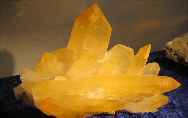 Bergkristallstufe