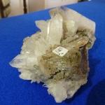 Bergkristall auf Muttergestein